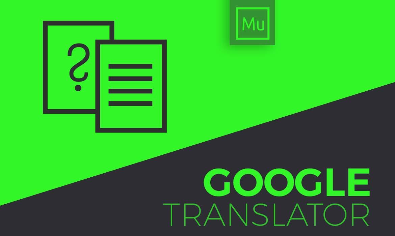 Google Translator Minimal
