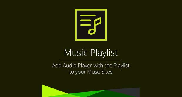Music Playlist - MuseTemplatesPro